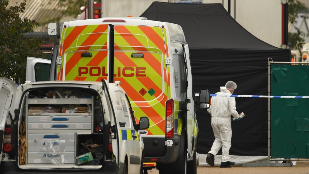 Three people arrested over Essex lorry deaths released on bail