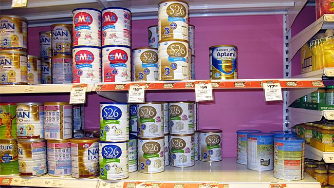 Frantic parents pay high price for baby formula | Herald Sun