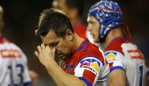 Mitchell Pearce wasn't thrilled