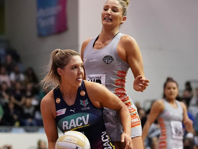 Kate Moloney delivered an MVP performance in the Vixens' big win against Collingwood.