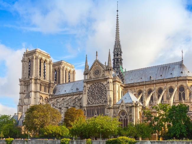 Notre Dame Cathedral Photos Before Fire Daily Telegraph