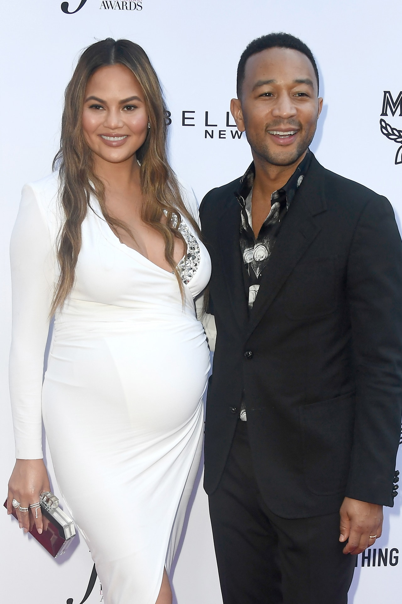 Chrissy Teigen and John Legend just revealed the first photo and name of their son