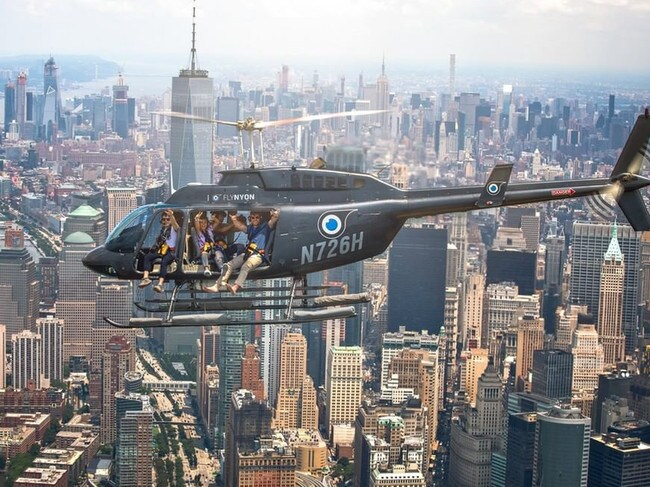 Customers enjoying a FlyNyon flight over New York City. Picture: Instagram