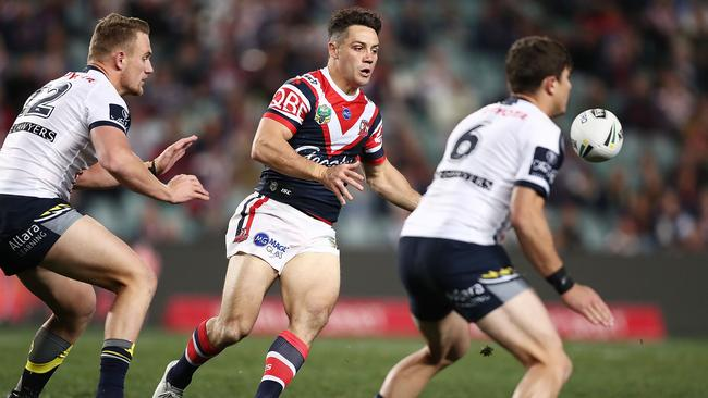 Cooper Cronk was imperious for the Roosters. (Mark Metcalfe/Getty Images)