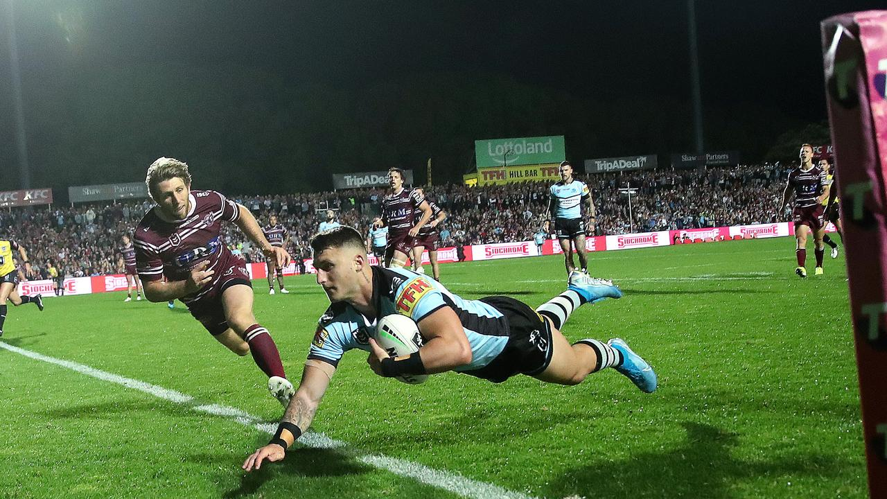 Cronulla's Bronson Xerri is facing a potential four-year ban. Picture. Phil Hillyard