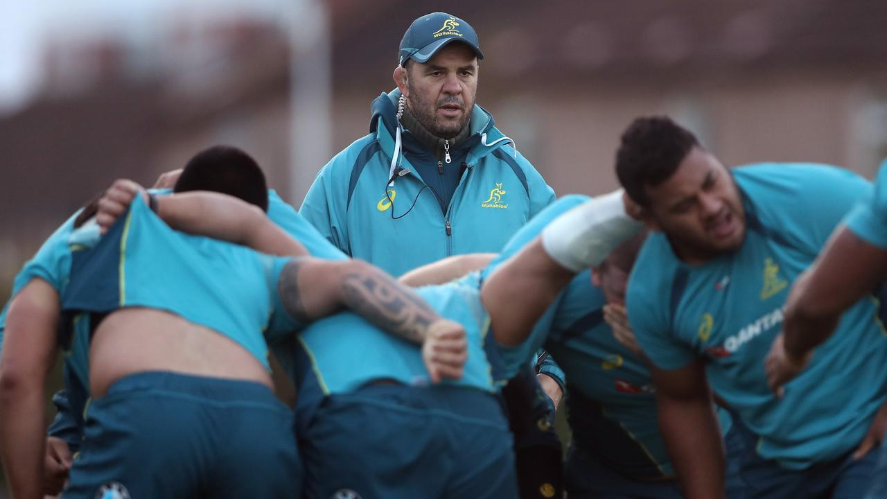 Wallabies coach Michael Cheika held an intense pre-season camp in which four players sustained calf injuries.