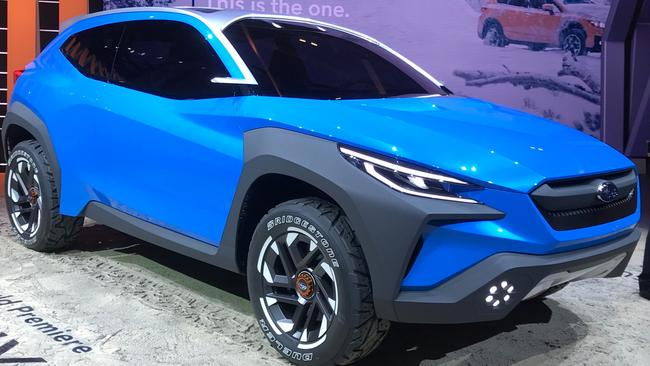 Subaru Viziv concept previews the next XV. Picture: David McCowen.