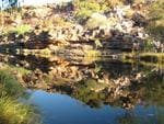 <b>14. THE KIMBERLEY, WA: </b>On our honeymoon on the Lady M in the magnificent Kimberley, we came across this amazing scenery. The picture is a mirror image so it is really difficult to see which way up the picture should be but I think this is the correct way up ... Picture: Debbie Blanchette, WA
