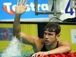 Swimming - swimmer Eamon Sullivan after winning mens 50m freestyle race at Australian Swimming Championships at Chandler Aquatic Centre, Brisbane 09 Dec 2006.