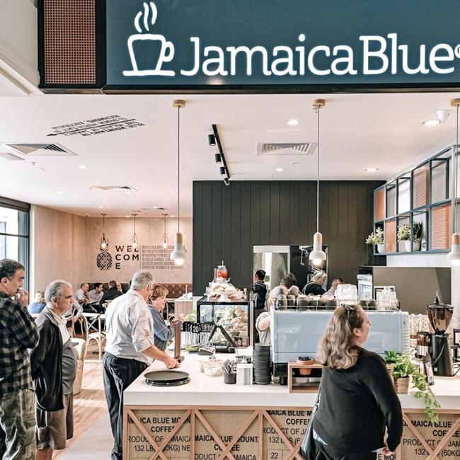 There are more than 100 Jamaica Blue cafes in Australia. Picture: Facebook