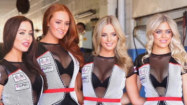 Formula One axes grid girls starting at the Australian Grand Prix in March