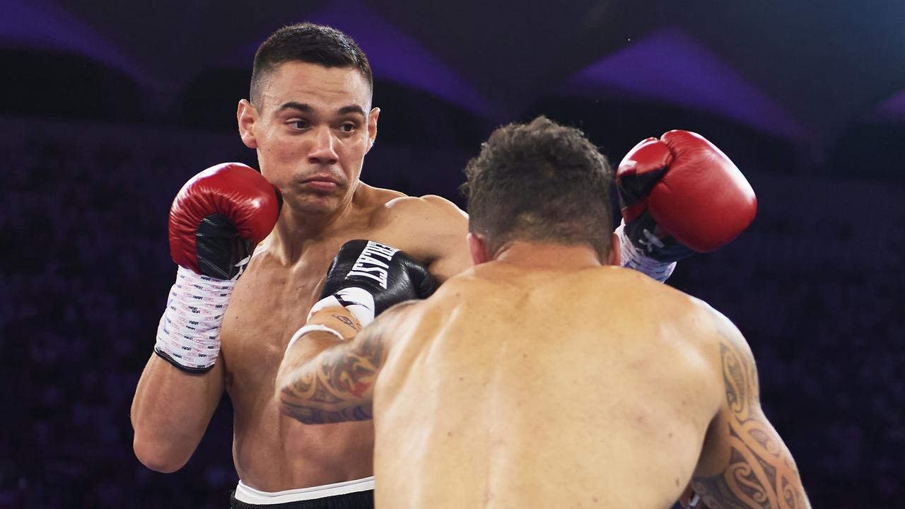 Tim Tszyu will step in the ring with Dennis Hogan in March.