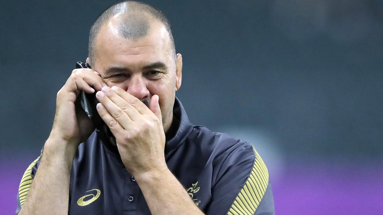 Michael Cheika irritated World Rugby by criticising the judiciary at the World Cup.