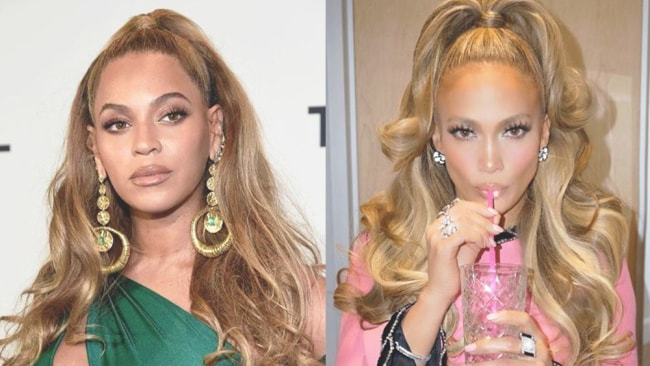 Beyonce and JLo both follow vegan diets. Images: Instagram