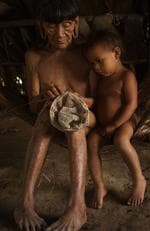 The lives of the Huaorani people in the Ecuadorean Amazon jungle. Picture: Pete Oxford /mediadrumworld.com/australscope