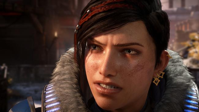 Kait is the main character in Gears 5 as she searches for answers about her past. Picture: Supplied