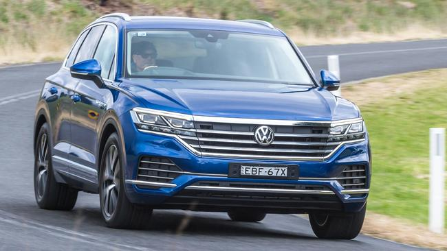 Touareg: Potent yet refined engine and impressive road manners