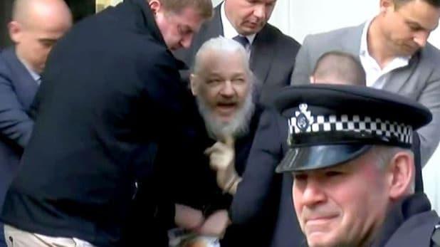 Julian Assange Sentenced To 50 Weeks In Jail