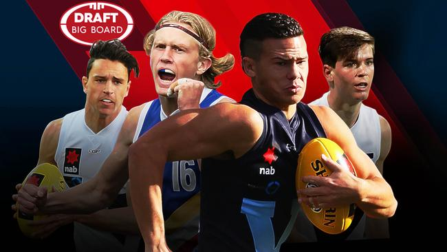 AFL Draft Big Board 3.0