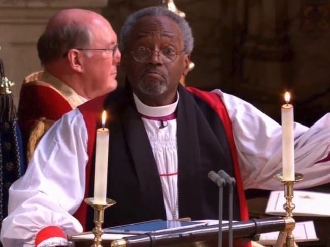 Michael Curry Royal Wedding.Royal Wedding Preacher Who Is Michael Curry Adelaide Now