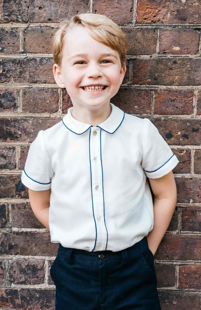 Five-year-old Prince George loves dancing just like Diana did