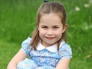 Princess Charlotte is excited about her first day at school. Image: The Duchess of Cambridge.
