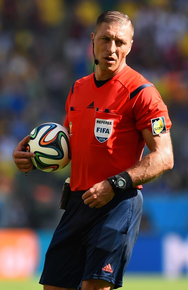 Nestor Pitana during the World Cup Quarter Final between France and Germany.