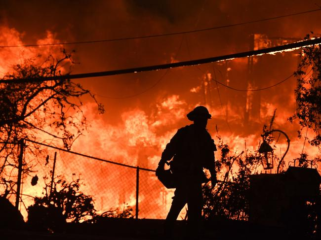 California fires are the latest in a string of toxic environmental disasters affecting 2018. Photo by Robyn Beck.