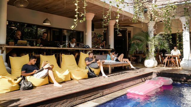 The spaces look more like a holiday resort. Picture: Dojo Bali.