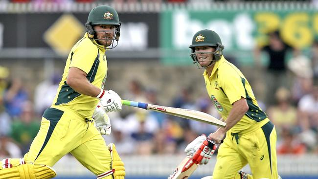 David Warner and Aaron Finch are likely to be Australia's opening pair.