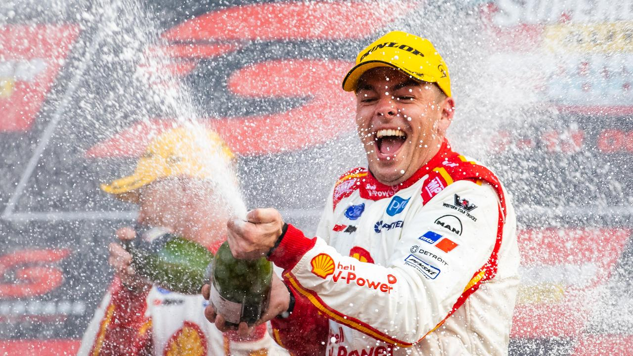 Scott McLaughlin won last year's Bathurst 1000 in controversial circumstances.