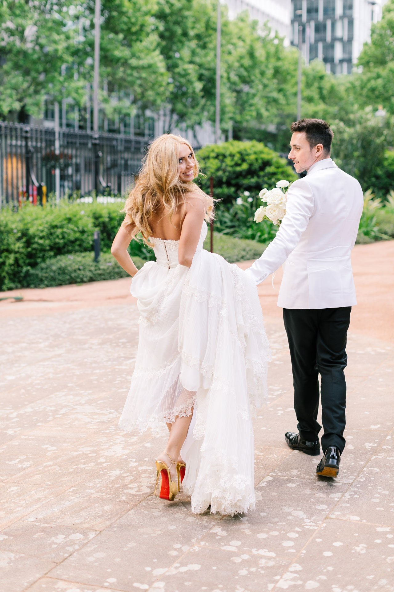 Inside a festive, love-filled wedding in the heart of Sydney