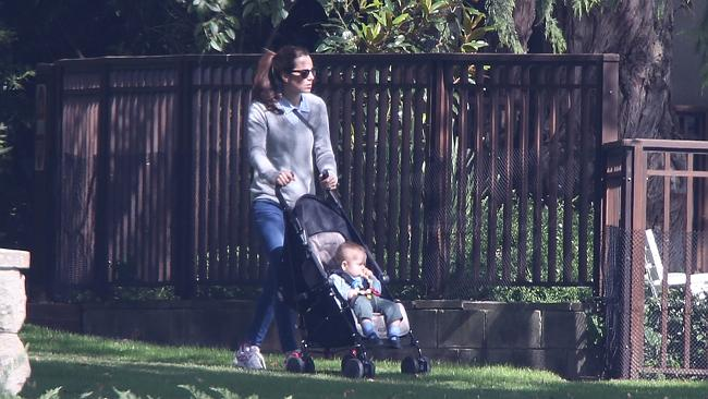 Mum and bub doing what they do best - enjoying each other's company. Picture: News Corp
