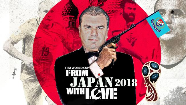 From Russia ... no, Japan ... with love