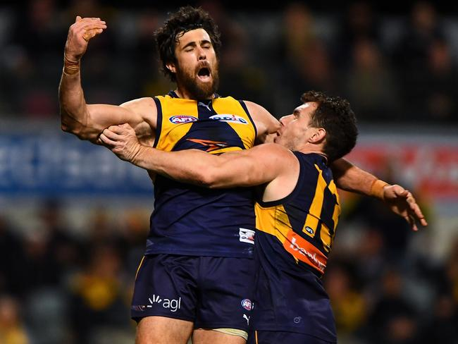 Josh Kennedy sent the Blues packing