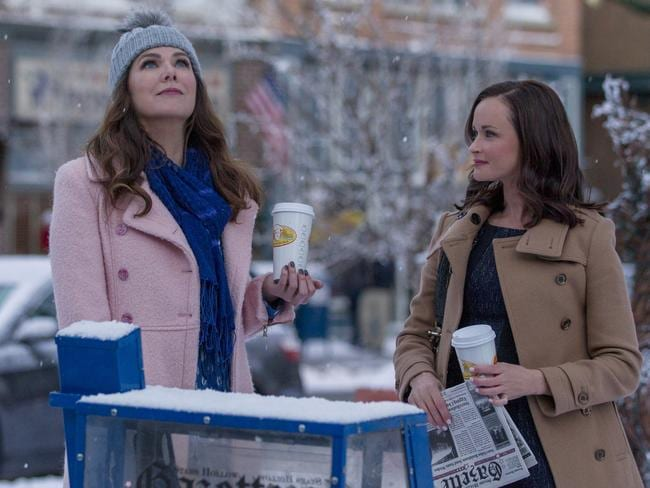 Getting over an election loss? Gilmore Girls helps, according to Hillary Clinton.