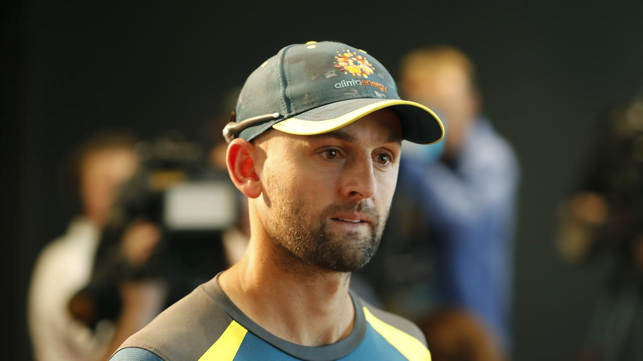 The Ashes are just one Test away but Nathan Lyon insists one eye shouldn't be cast forward to the showpiece tour until well after the Canberra clash with Sri Lanka.
