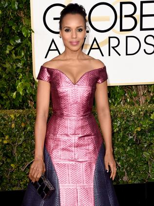 Mostly miss ... actress Kerry Washington. Picture: Getty Images