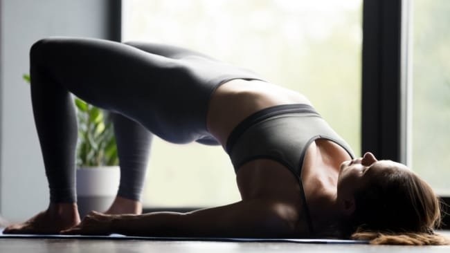 The Bridge Pose. Image: iStock.