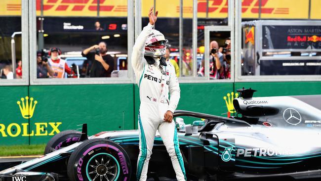 Australian Grand Prix: Qualifying from Albert Park, Melbourne
