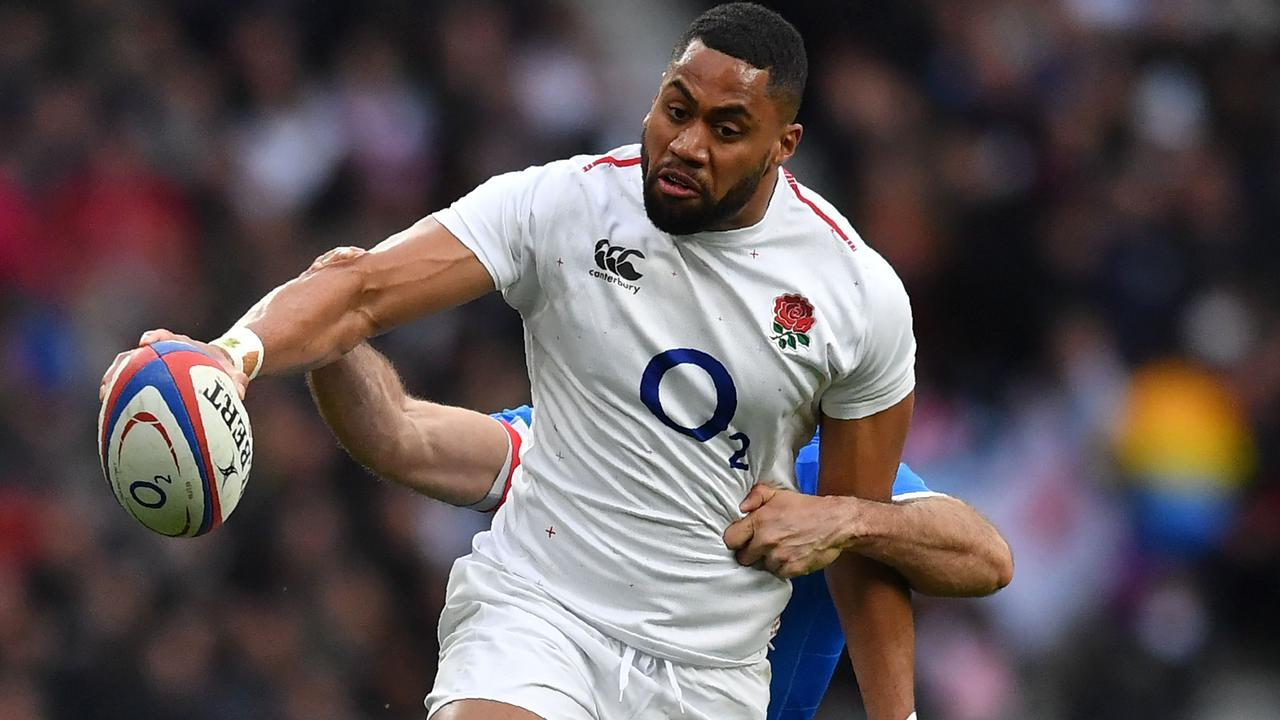 England winger Joe Cokanasiga is being compared to the late, great Jonah Lomu.