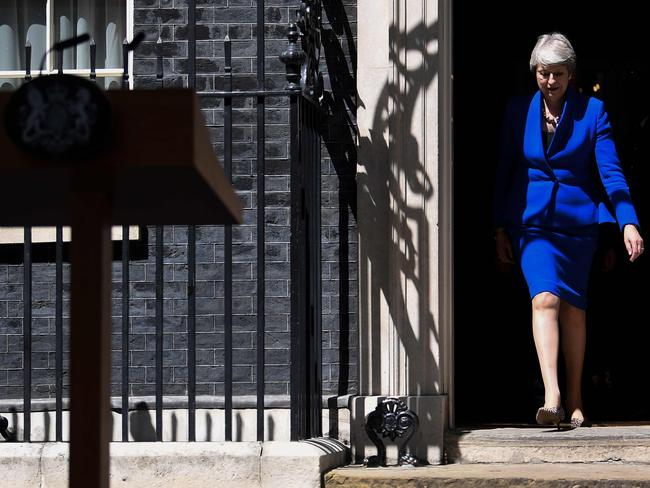 Boris Johnson wants to remove the backstop clause from the current divorce agreement struck by Theresa May. Picture: AFP