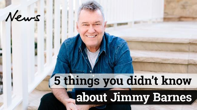 5 things you didn't know about Jimmy Barnes