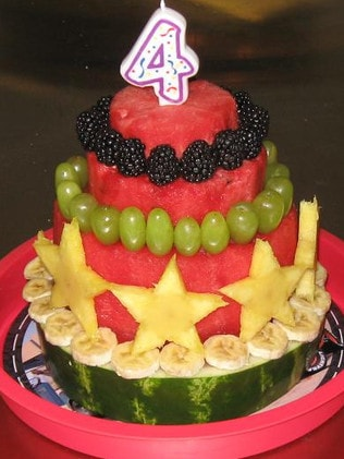 Magnificent Fruit Cake For Kids Traditional Cake Swapped With Healthy Alternative Funny Birthday Cards Online Drosicarndamsfinfo