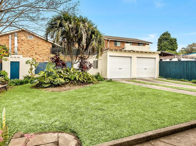 No. 172 Frederick St, Rockdale, has plenty of room for a decent game of backyard cricket.