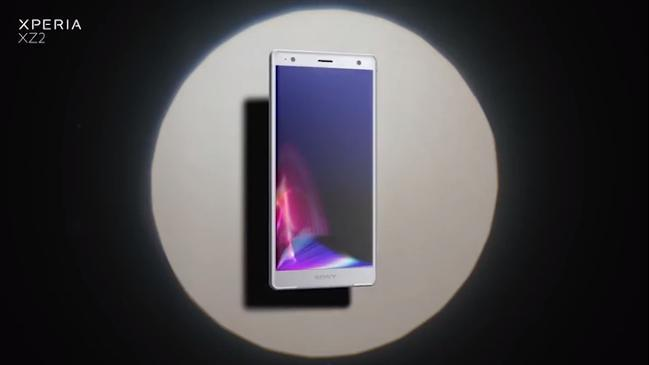 Introducing Xperia XZ2 smart phone from Sony