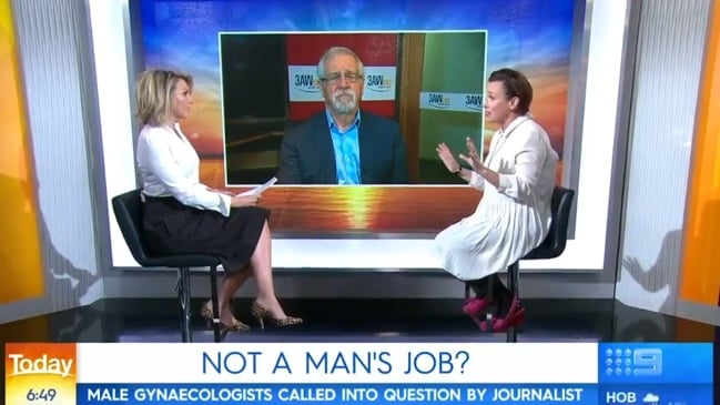 Opinion piece sparks debate over why men become gynecologists (The Today Show)