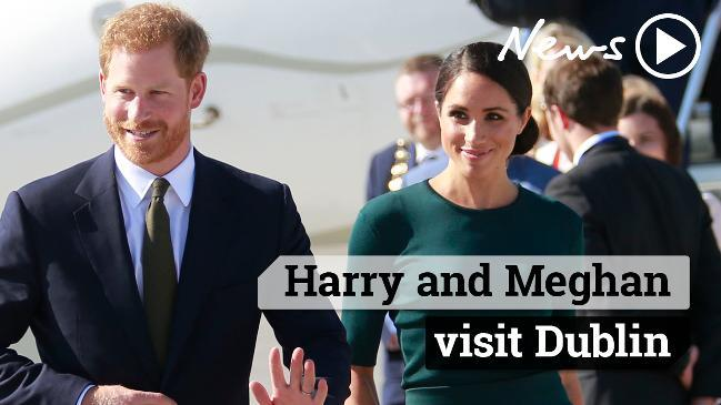 Harry and Meghan's Royal visit to Dublin