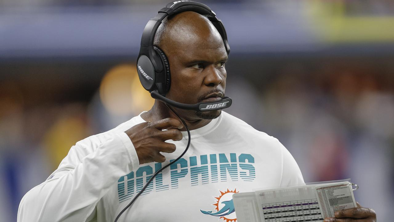 Brian Flores is finding some success in Miami.