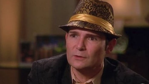 "Corey Feldman said his site was ""hacked"". Picture: Supplied."